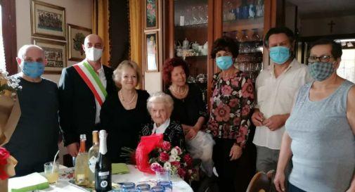 Nonna Angelica ha spento ben 103 candeline
