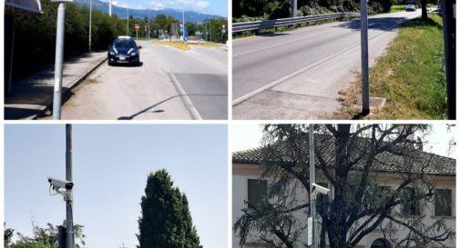 Asolo mette nuove telecamere per la sicurezza sul territorio