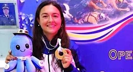 La trevigiana Consuelo Dametto campionessa mondiale di nuoto pinnato