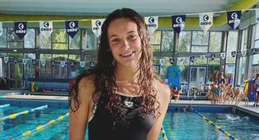 Vittorio Veneto, Margherita Serafin nella nazionale giovanile di nuoto