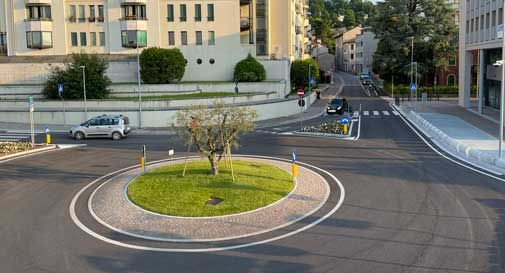 Conegliano, lunedì la rivoluzione con l'apertura di via Vespucci: limite di velocità di 30 km/h