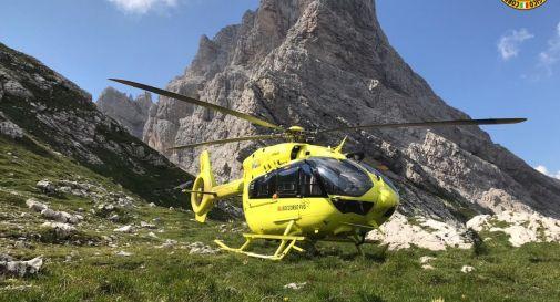 Morto l'escursionista trevigiano caduto sulla Forcella Duranno
