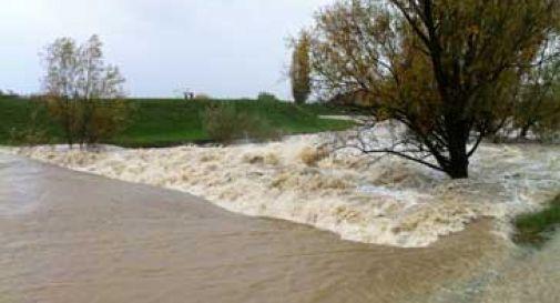 Protezione civile: allerta rossa fiumi per il maltempo