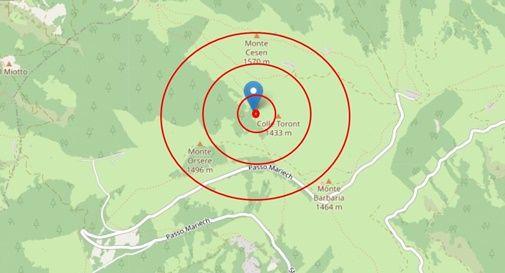 Terremoto: notte di ansia per i valdobbiadenesi, alle 20.51 arriva una terza scossa