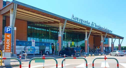 Anche all'aeroporto di Treviso arrivano i controlli per il rilievo della temperatura corporea dei passeggeri