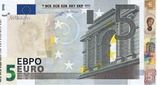 5 euro, ecco le nuove banconote