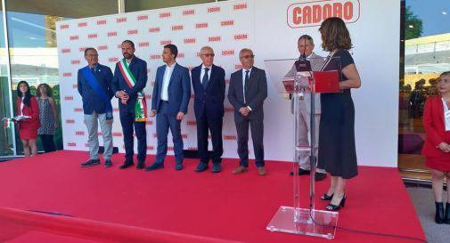 l'inaugurazione di poco fa a Mogliano