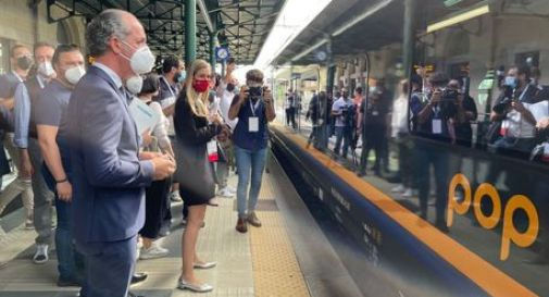 Inaugurata la nuova linea elettrificata Conegliano-Belluno