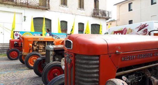 Coronavirus, trattori Coldiretti mobilitati per sanificare le strade