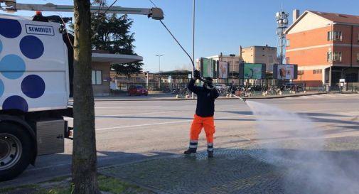 sanificazione strade Treviso
