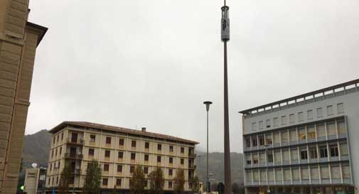 piazza medaglie d'oro antenna rotta