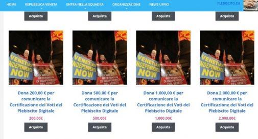 Indipendenza del Veneto: «Pagate per sapere se i voti sono validi»