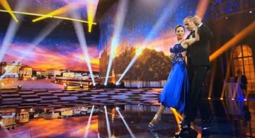 Ballando con le Stelle, il tango di Allegri: