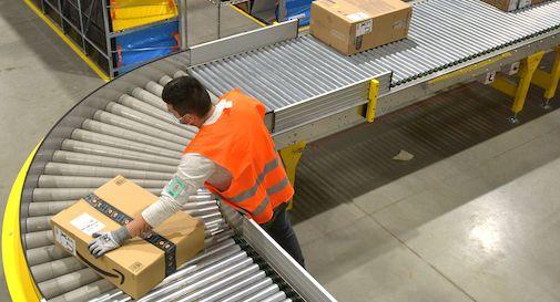 Amazon deposito Treviso