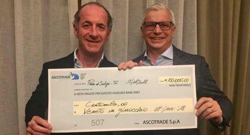 Danni maltempo, Ascotrade dona 100.000 euro al Veneto