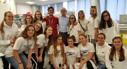 le atlete di Montebelluna giovedì in ospedale a Padova