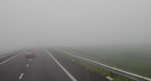 pericolo nebbia nel weekend