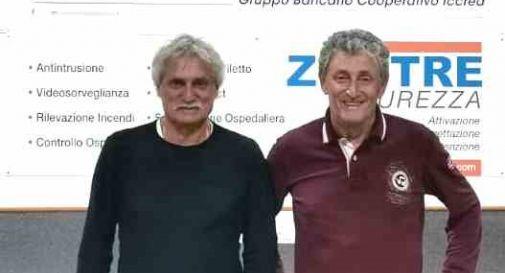 Da sinistra, Bepi Pillon e Michele Zanlorenzi