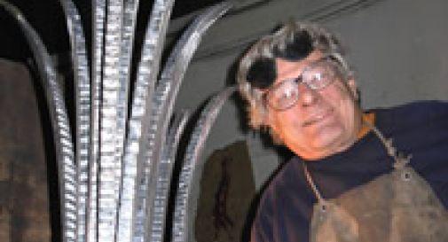 Lo scultore trevigiano Simon Benetton