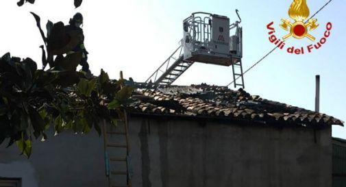 A fuoco un'abitazione a Vedelago, incerte le cause del rogo