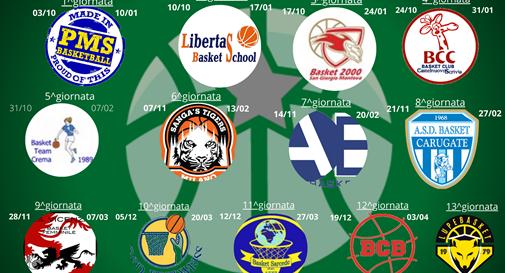 Dalla sfida con Moncalieri al derby con le Lupe: ecco il calendario del Ponzano Basket