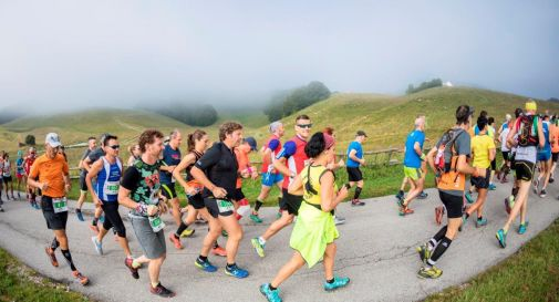 foto dell'edizione 2018 della Cansiglio Run (credit corsainmontagna.it)