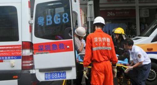 Cina, bus contro camion: 36 morti