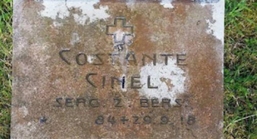 Ad un secolo dalla morte scoperto un altro caduto in guerra di Asolo
