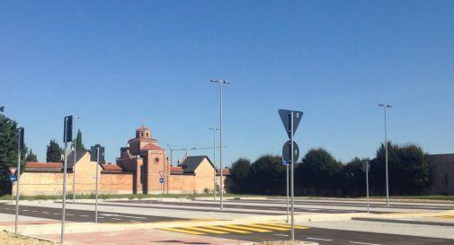il parcheggio di via Verdi