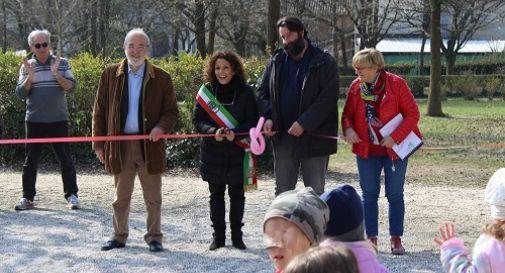 Parco Arcobaleno, inaugurati i nuovi giochi