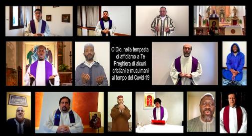 preghiera cristiani musulmani