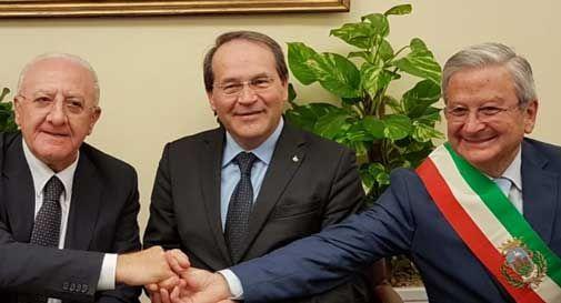 Zambon dal presidente della Campania De Luca