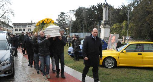il funerale di Alberto Schiavon celebrato quest'oggi