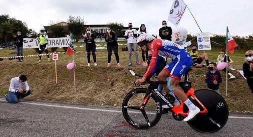 il Giro oggi su Ca' del Poggio