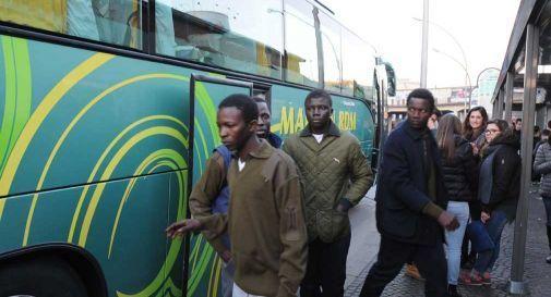 Si rifiutano di passare la notte in tenda, profughi rimangono sulla corriera