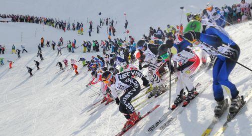 Giorgia e Edoardo, i bravissimi degli sci