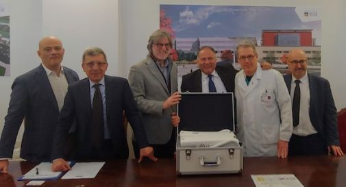 All'Oculistica dell'ospedale di Treviso donato un nuovo strumento per gli esami della vista
