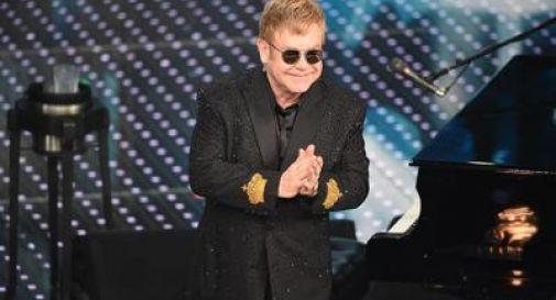 Elton John all'Ariston: