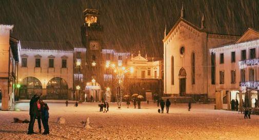 Nevicata a Oderzo