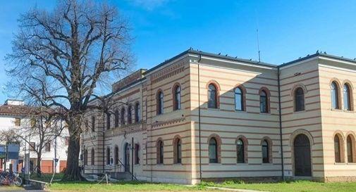 Lo scorcio sulle ex scuole Rossi che si è aperto in seguito della demolizione del fatiscente edificio