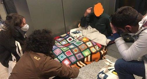 La distribuzione di coperte ad opera di Sheep Italia