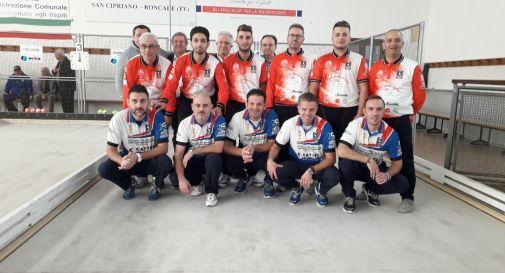 Bocce, Serie A Raffa / A Villorba Monastier supera il Città di Rende