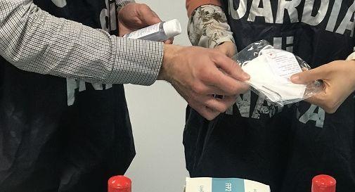 Covid, maxi sequestro di 1,4 milioni di mascherine arrivate dalla Cina