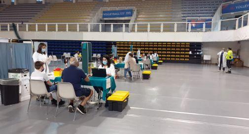 Maxicampagna vaccini alla Zoppas Arena