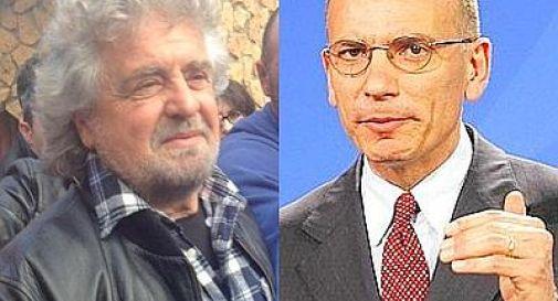 Grillo vs Letta: