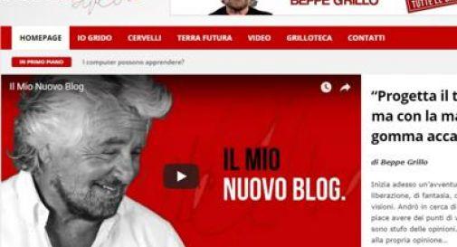 Blog di Grillo via da M5S