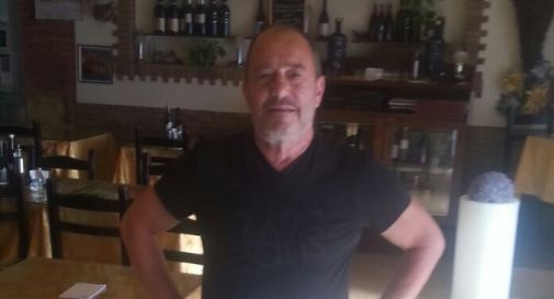 Giorgio Nardin nel suo locale