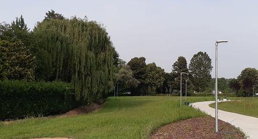 Il nuovo parco di via Falcone e Borsellino a Marocco di Mogliano Veneto