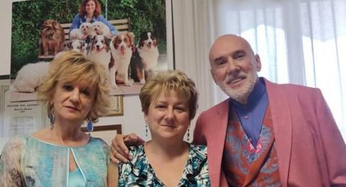 Da sinistra: Laura Milan, Cristina Tosin, Diego Dalla Palma