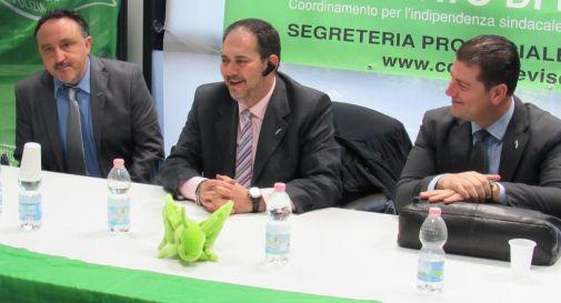 Coisp, Cordone rieletto segretario